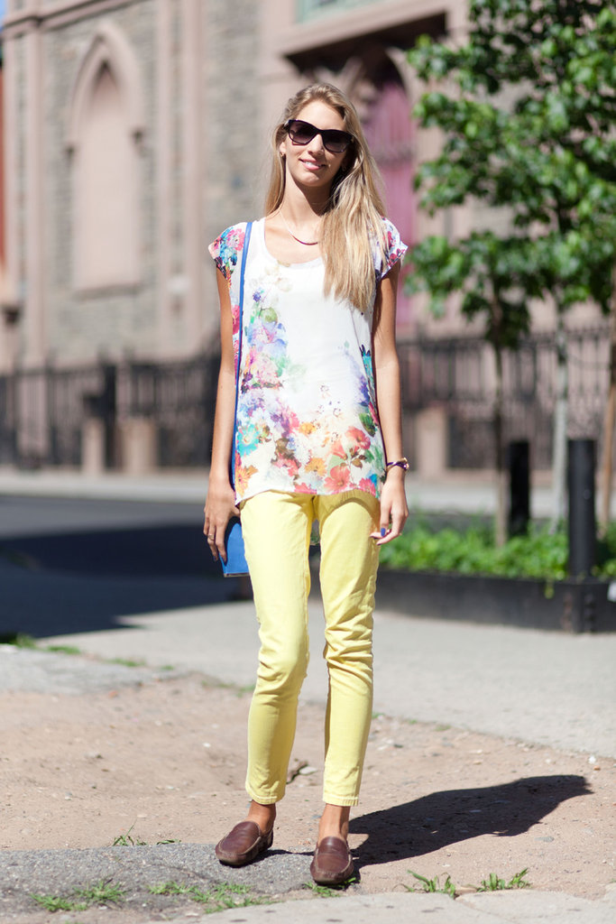 Pastel-hued pants are an instant upgrade on anybody's run-of-the-mill denim.