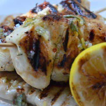 Grilled Meyer Lemon Chicken Recipe