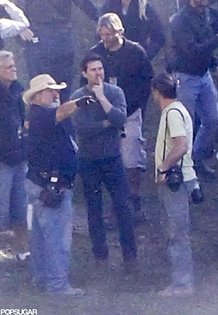 Tom Cruise Spotted on Set Following Divorce Settlement