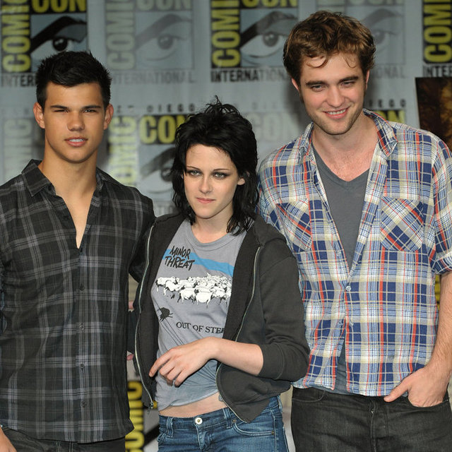 Twilight Cast at Comic-Con Pictures: Kristen Stewart, Robert Pattinson and More