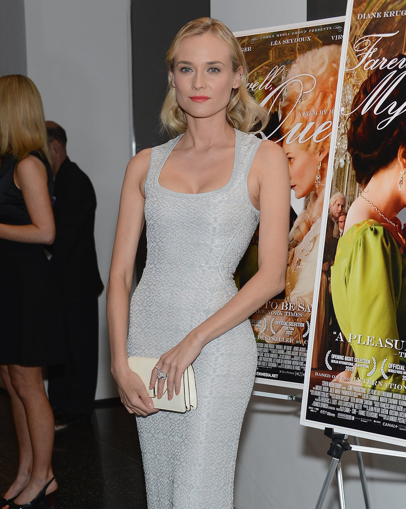 Diane Kruger at her Farewell, My Queen premiere.