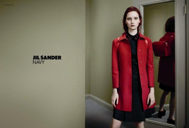 Jil Sander Navy Fall 2012 Ad Campaign
