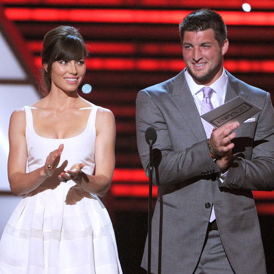 Jessica Biel, Tim Tebow, and Jeremy Lin at ESPYs Pictures