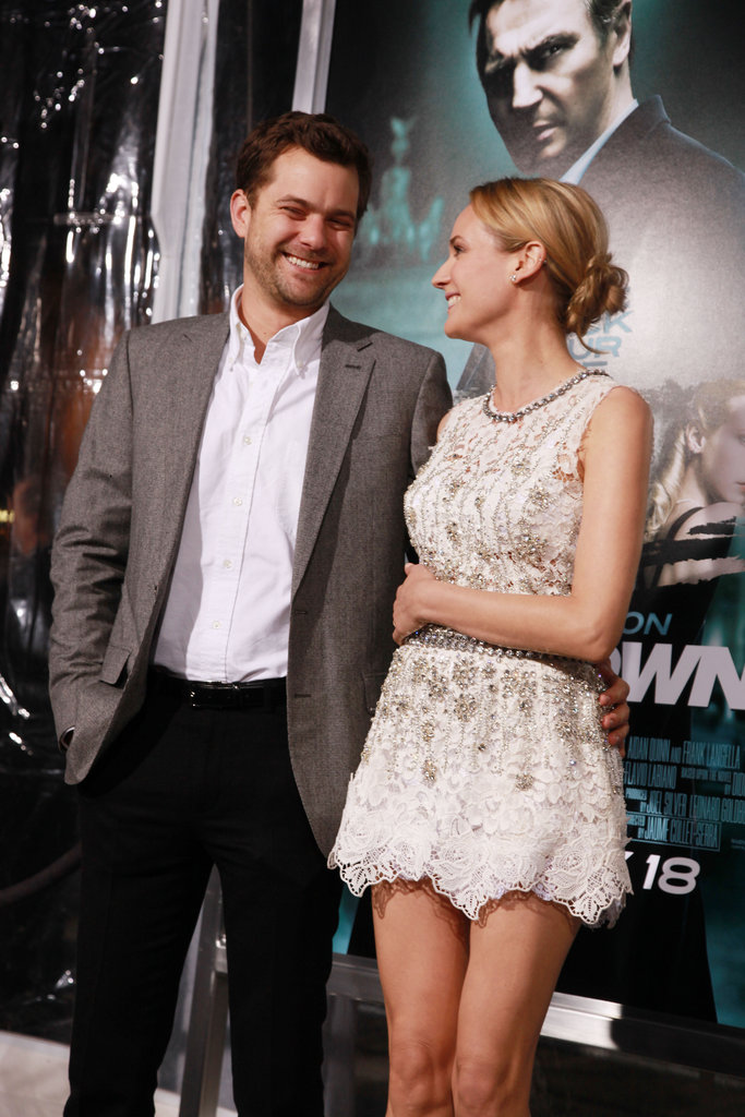 Diane Kruger made Joshua Jackson laugh at the LA premiere of Unknown in February 2011.