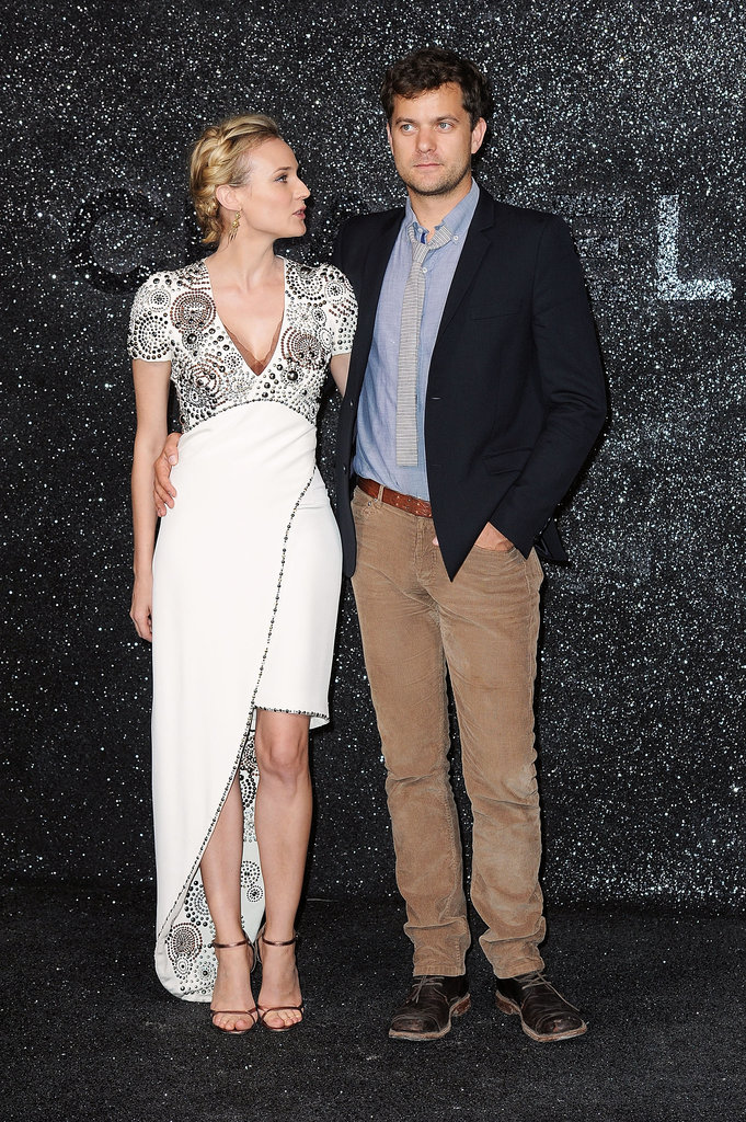 Diane Kruger and Joshua Jackson stepped out for the Chanel show during Paris Fashion Week in July 2011.