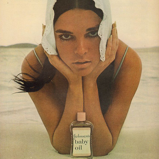 Vintage Summer Beauty Ads