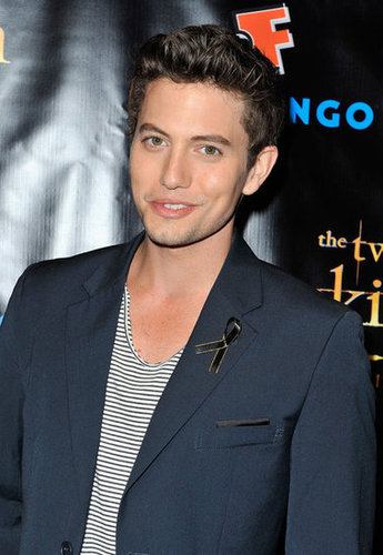 Jackson Rathbone looked happy to attend the Breaking Dawn Part 2 party at Comic-Con.