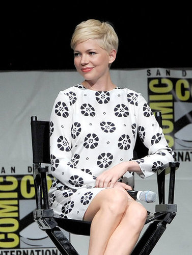 Michelle Williams chatted about Oz: The Great and Powerful at Comic-Con.