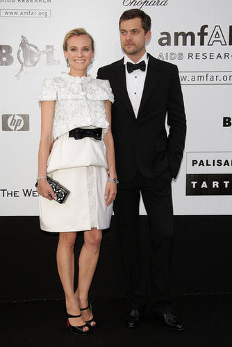 For the 2009 amfAR gala, Diane looked beautiful in a black-and-white Chanel Haute Couture ensemble.