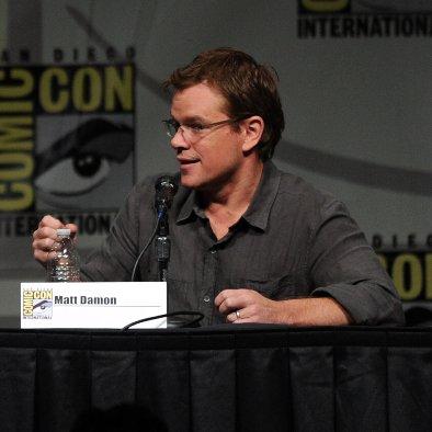 Comic-Con Elysium Panel With Matt Damon