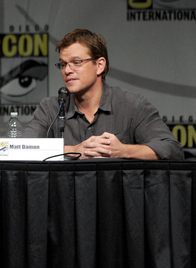 Matt Damon spoke about Eylsium.