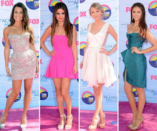 Teen Choice Awards Best Dressed 2012