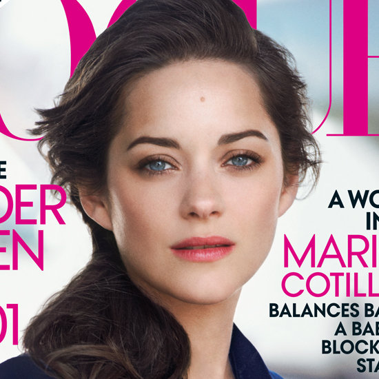 Marion Cotillard Vogue August 2012 Cover Photo