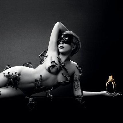 Lady Gaga's Fame Perfume Ad