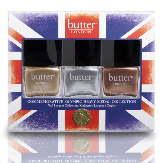 Olympics Beauty Products in Metallics and Red, White and Blue