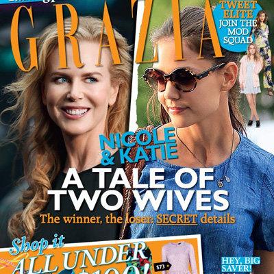 Katie Holmes and Tom Cruise Divorce Dominates Australian Magazine Covers