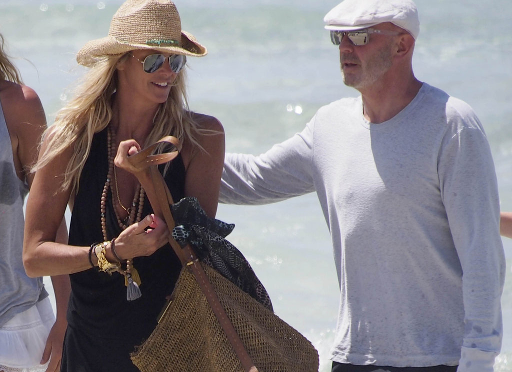 Elle Macpherson on vacation with Roger Jenkins.