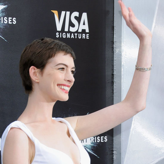 Anne Hathaway Dark Knight Rises Premiere (Video)