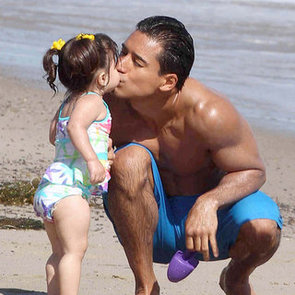 Celebrity Kids Beach Pictures 2012