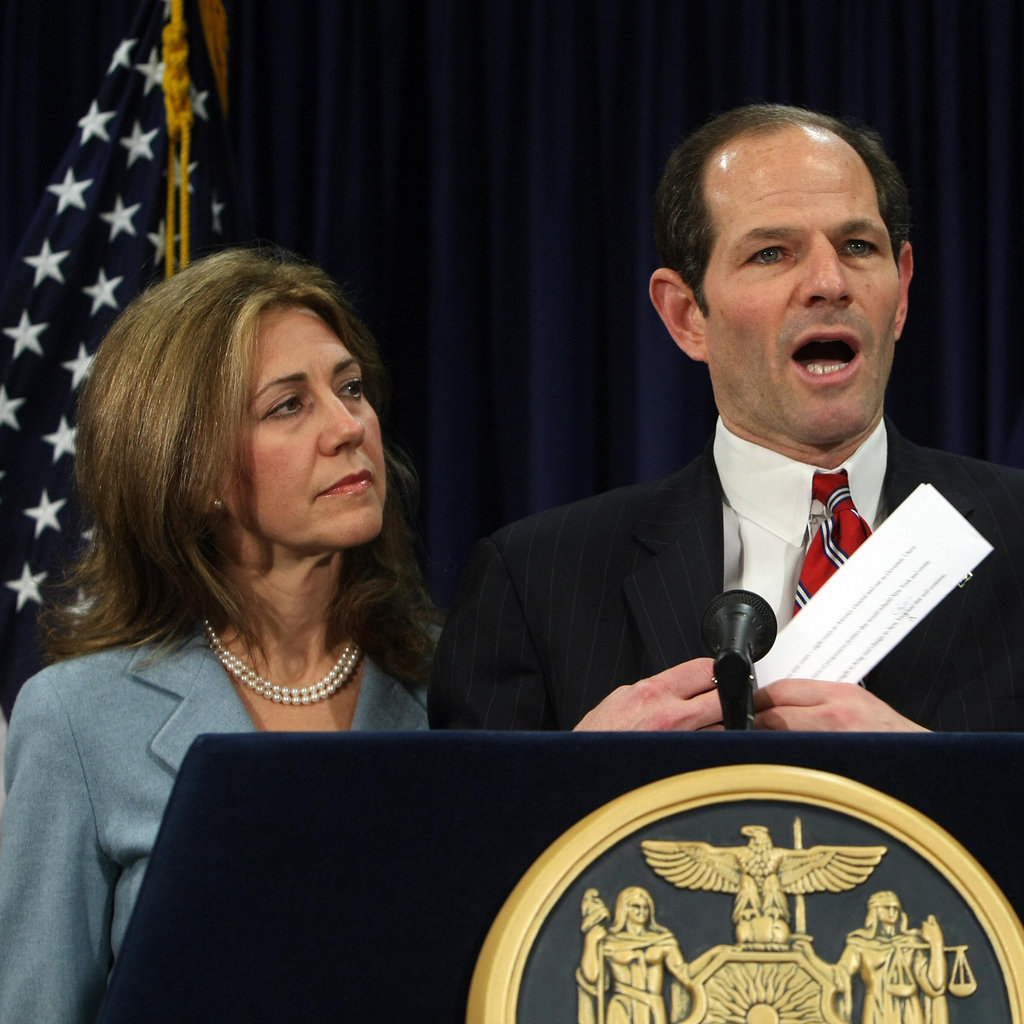 "Silda Spitzer ""All of us face challenges in life. But we still have to use our internal power to move forward and try to respond the best we can, keeping in clear sight what is important to us."" Eliot Spitzer's wife told Vogue why she decided to stay with her husband following his prostitution scandal."