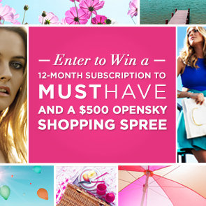 PopSugar Must Have and OpenSky Giveaway