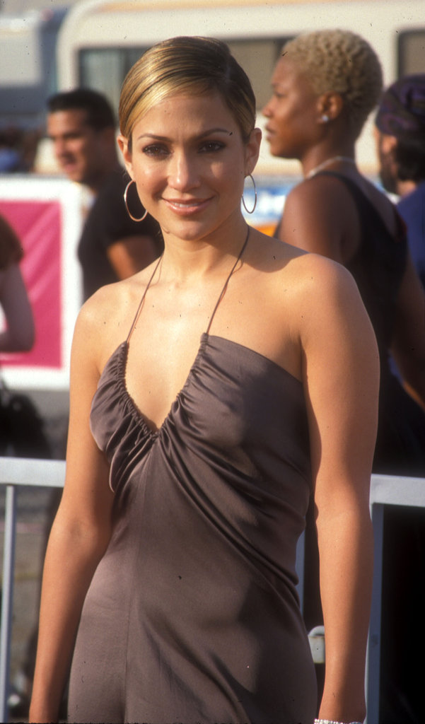 Jennifer Lopez stepped out for the first ever Teen Choice Awards in 1999 wearing a brown silk dress.