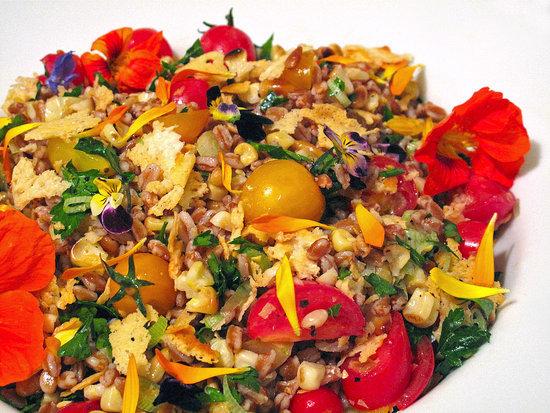 Toasted Farro Summer Salad