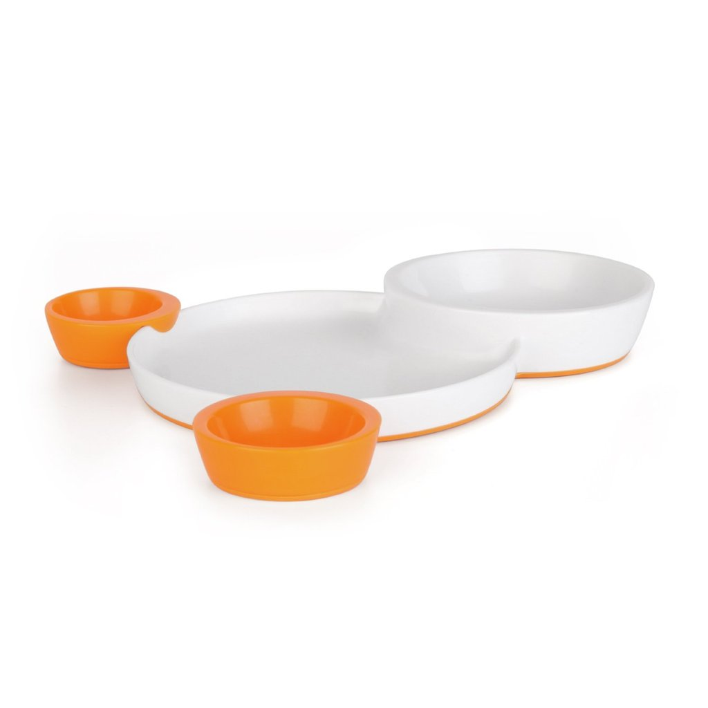 Boon Groovy Interlocking Plate and Bowl Set ($13)