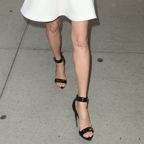 Celebrities in Ankle-Strap Sandals