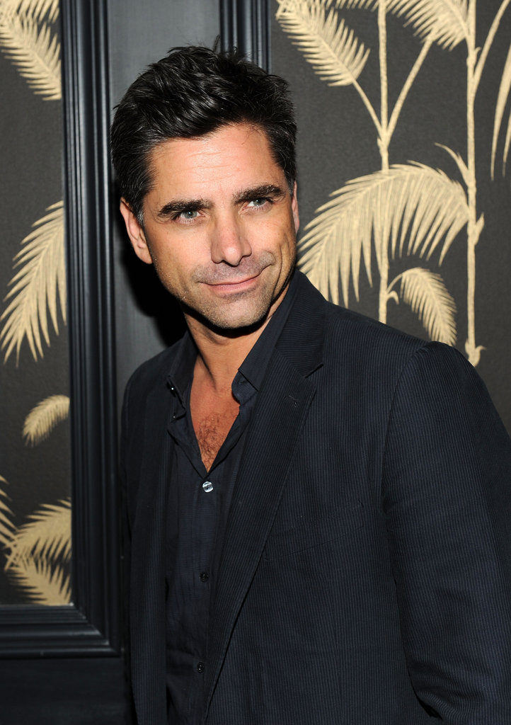 John Stamos gave a smile at the Killer Joe afterparty in NYC.