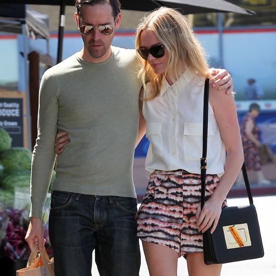 Kate Bosworth in Printed Shorts in LA (Video)