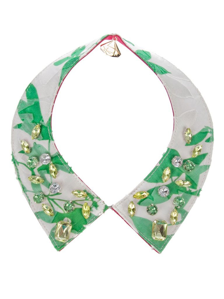 Tropical prints were another huge trend for the season, and we're loving the fun pattern on this Summery collar. Gemma Lister Tropical Print Collar ($141)