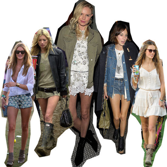 Top Five Celebrity Festival Looks to Steal for Splendour in the Grass: Kate Moss, Alexa Chung & Co. Have you Covered