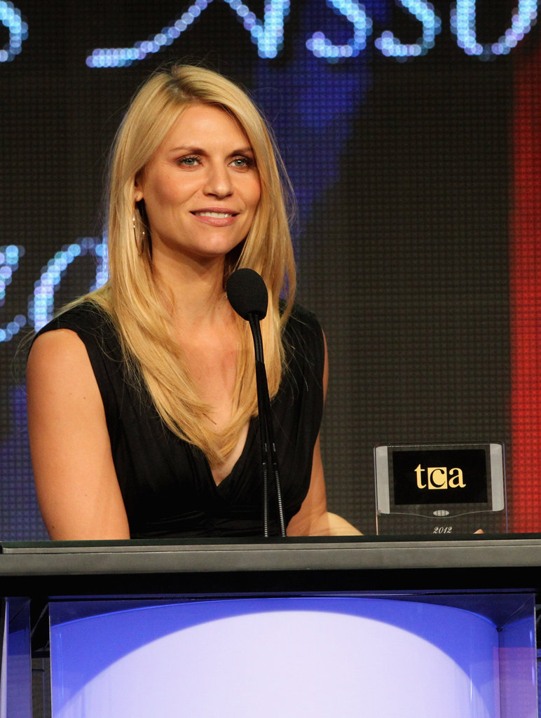 Claire Danes picked up an award at the Televisions Critics Association Awards.