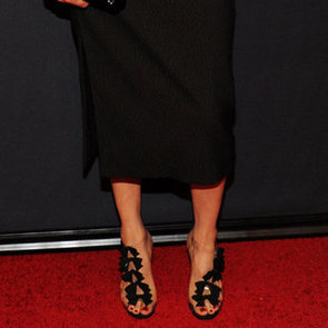Christian Louboutin Bow Sandals (Celebrity Pictures)