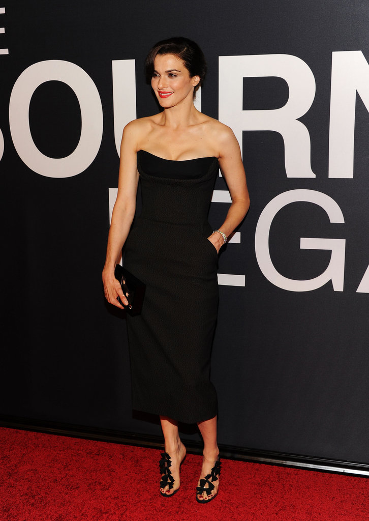 Rachel Weisz posed with her hand in her pocket at the world premiere of The Bourne Legacy in NYC.