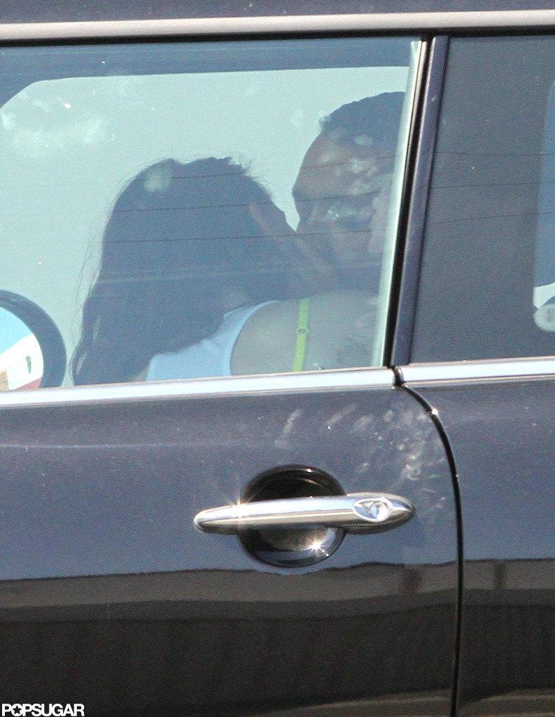 Kristen Stewart kissed her Snow White and the Huntsman director, Rupert Sanders.