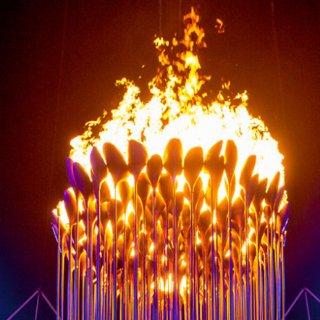 Olympics Fire Cauldron 2012