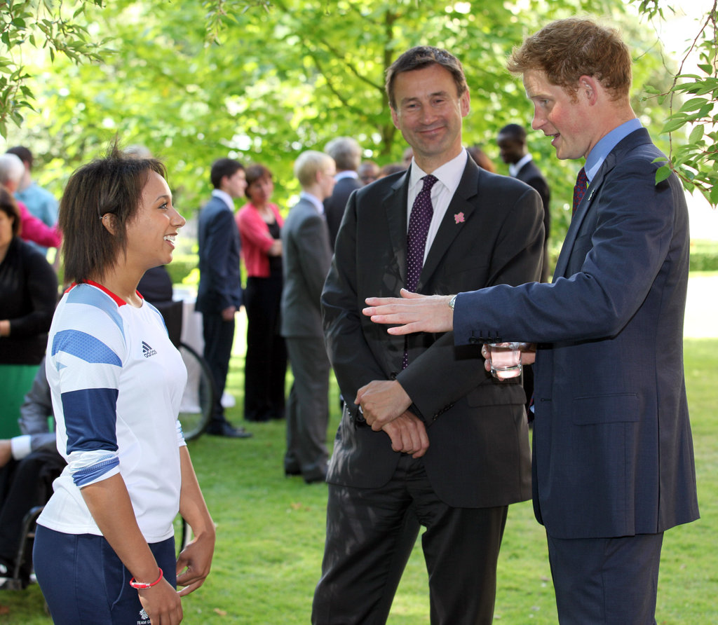 Prince Harry At Young Athletes Reception