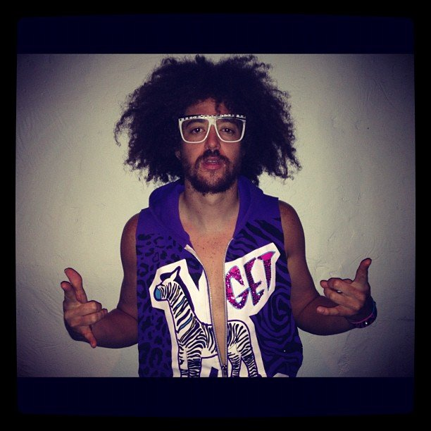 LMFAO's Redfoo shared outtakes from a photo shoot. Source: Instagram user redfoo
