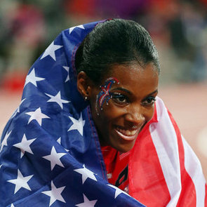 DeeDee Trotter Face Paint | 2012 Olympics