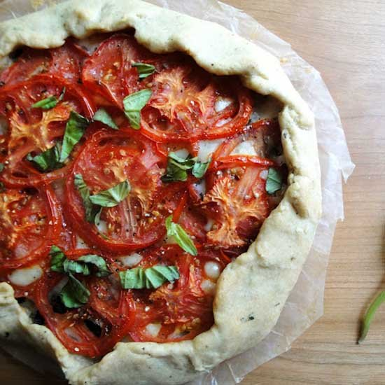 Tomato and Mozzarella Tart Recipe