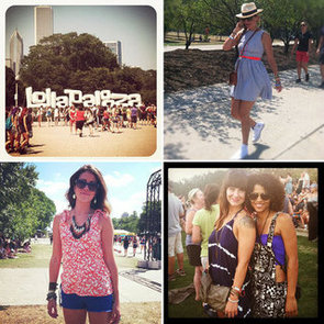 Top 20 Street Style Snaps from 2012 Lollapalooza Music Festival Via Instagram: Snoop The Festival Fashion