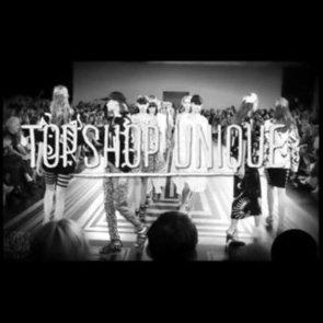 Topshop Unique Spring 2012 [Runway Video]