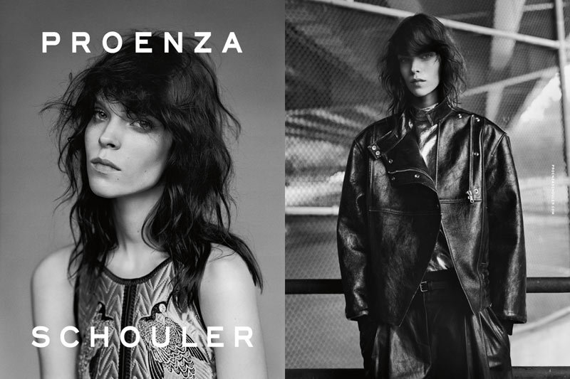 Model Meghan Collison was tapped for Proenza Schouler's Fall ads.