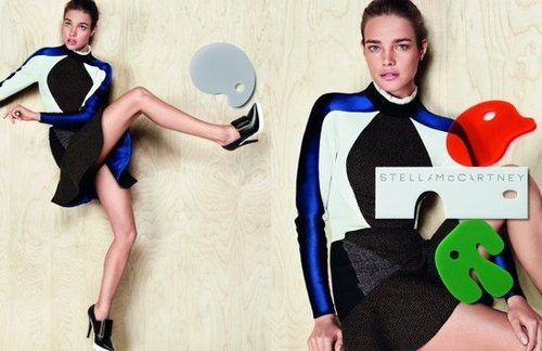 Natalia Vodianova is Stella McCartney's go-to girl for campaigns.