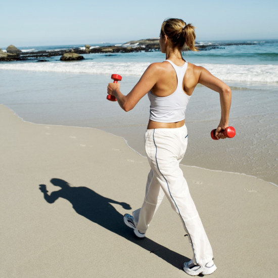 Do you carry weights when walking or running?