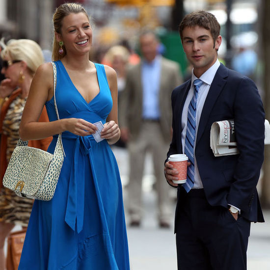 First Look at the Style On Set of Gossip Girl Season Six: Blake Lively as Serena van der Woodsen Looks So Chic!