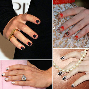 Two-Toned Manicures