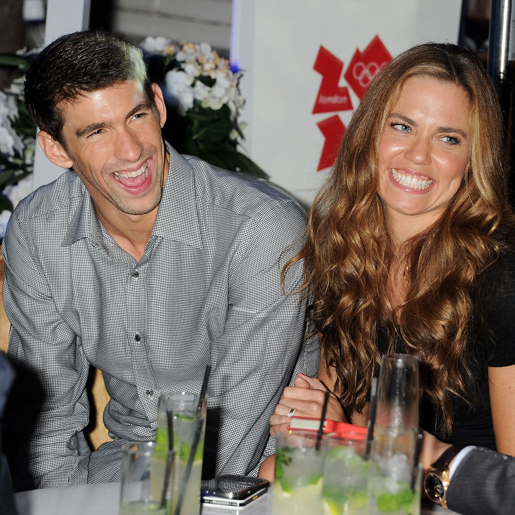 Michael Phelps and Natalie Coughlin at London Event ...